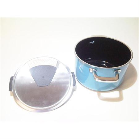 silit mountain blue topfset 4 tlg silargan induktion blau. Black Bedroom Furniture Sets. Home Design Ideas