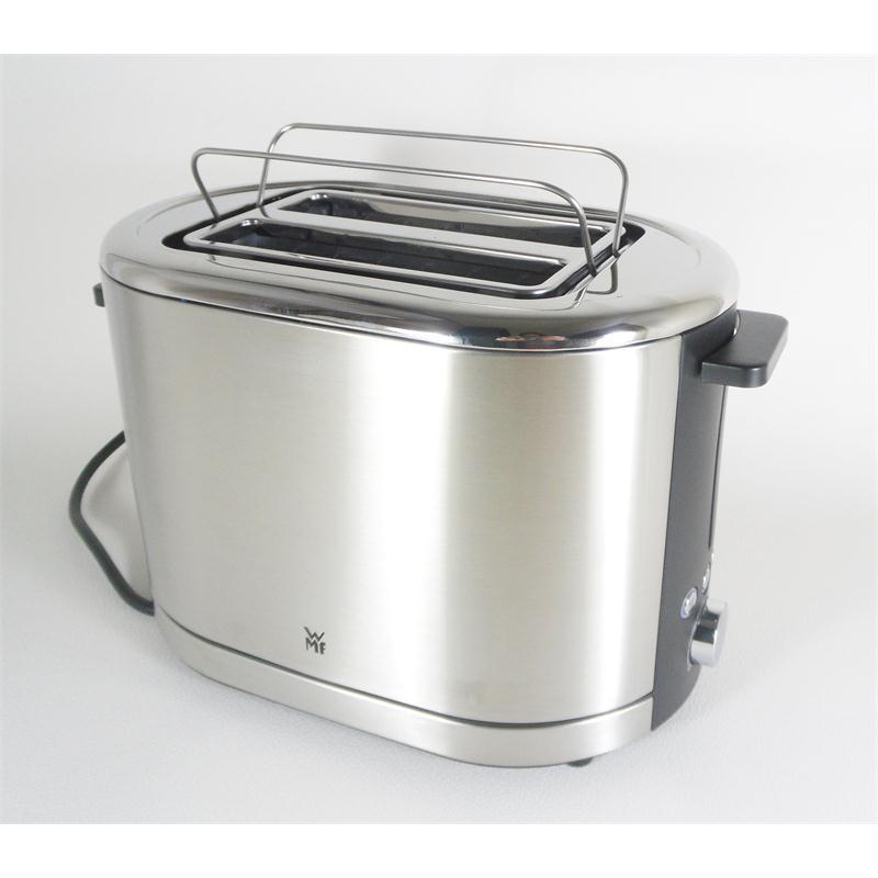 wmf toaster lono cromargan 041409011 edelstahl geb rstet 2. Black Bedroom Furniture Sets. Home Design Ideas