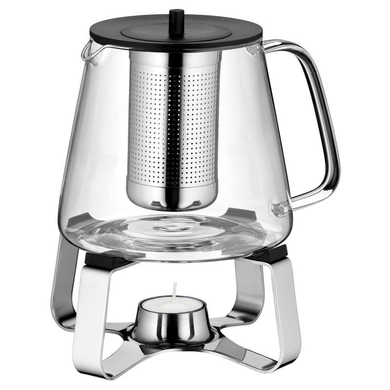 Wmf Teekanne Mit Stövchen : teekanne glas mit edelsthal st vchen wmf teatime set edelstahlsieb ebay ~ Frokenaadalensverden.com Haus und Dekorationen