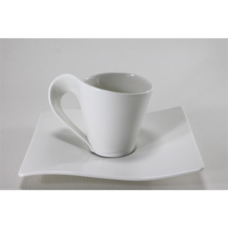 v b new wave kaffeeservice 12 tlg 4 pers kaffetasse fr hst cksteller villeroy bo ebay. Black Bedroom Furniture Sets. Home Design Ideas