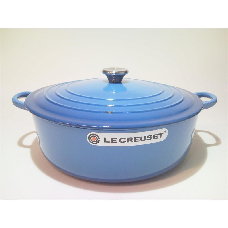 le creuset gourmetbr ter rund 30 cm marseille blau br ter. Black Bedroom Furniture Sets. Home Design Ideas