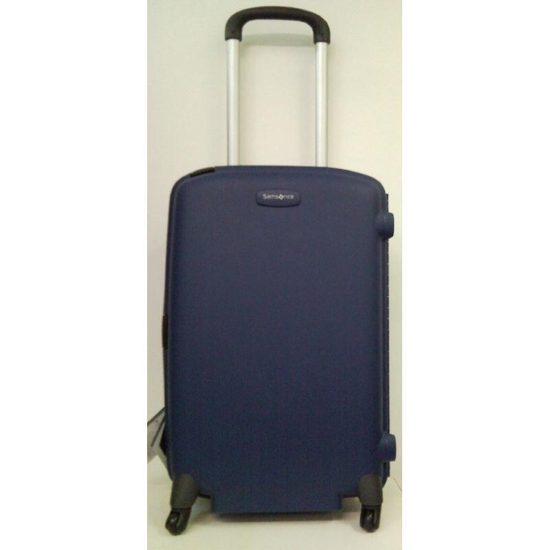 samsonite f lite young 67 trolley blau 4 rollen spinner. Black Bedroom Furniture Sets. Home Design Ideas