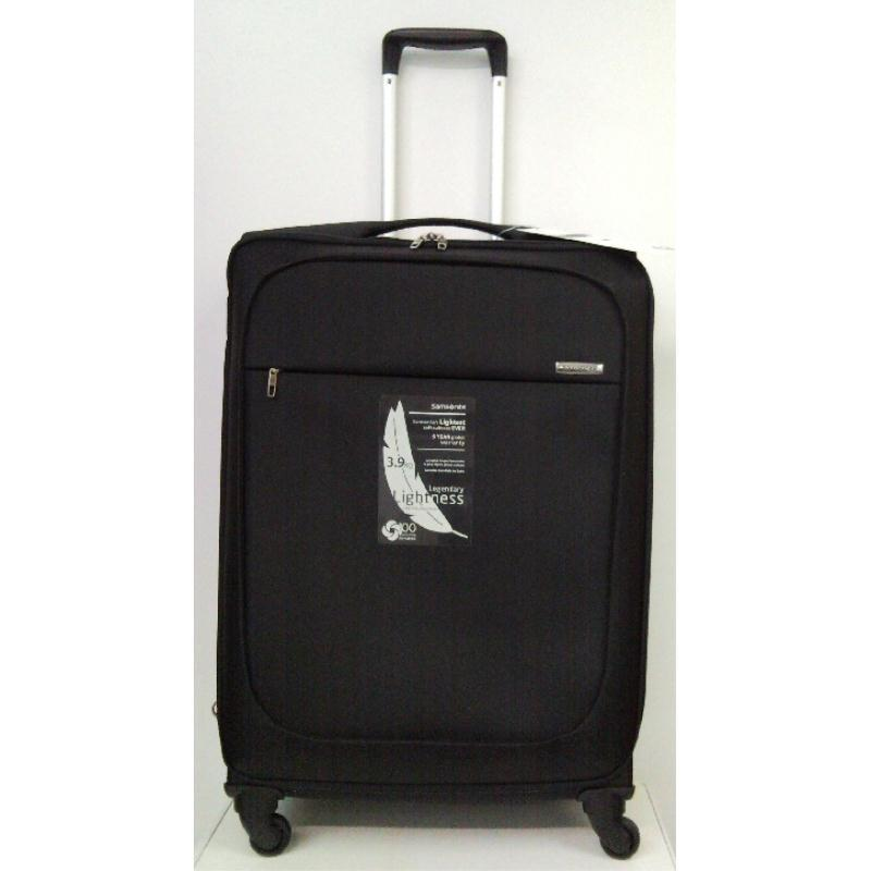 samsonite b lite trolley 77 schwarz 4 rollen spinner koffer extra leicht ebay. Black Bedroom Furniture Sets. Home Design Ideas