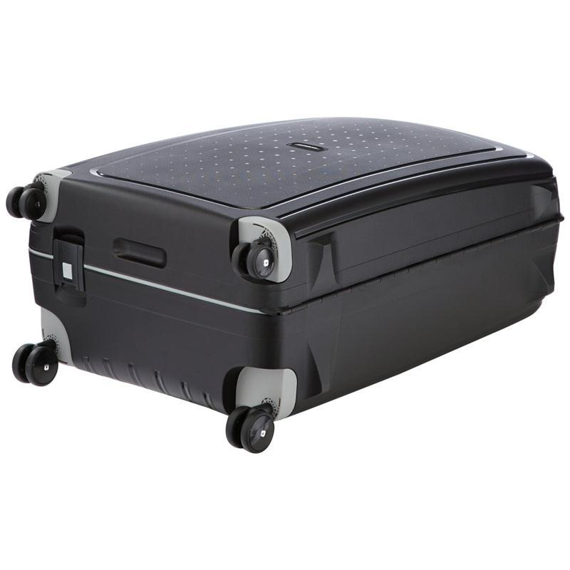 samsonite s 39 cure trolley 75 schwarz 4 rollen spinner. Black Bedroom Furniture Sets. Home Design Ideas