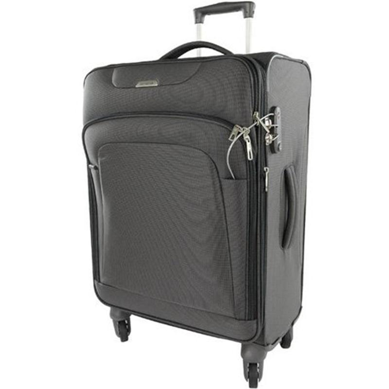 samsonite new spark trolley 67 graphite 4 rollen spinner koffer expandable ebay. Black Bedroom Furniture Sets. Home Design Ideas