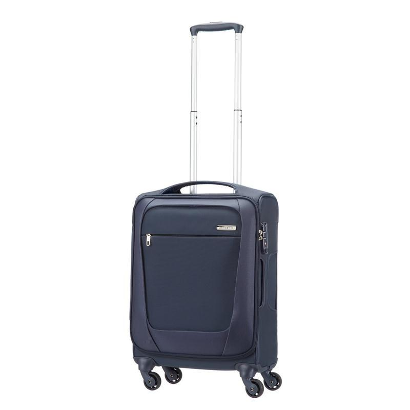 samsonite b lite lighter trolley 55 blau 4 rll spinner. Black Bedroom Furniture Sets. Home Design Ideas