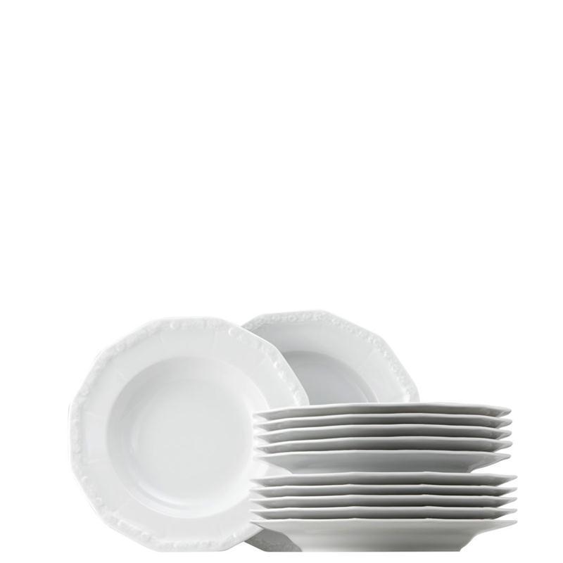 rosenthal maria weiss tafel set 12 tlg 6 pers tafelservice tafelset essservice ebay. Black Bedroom Furniture Sets. Home Design Ideas