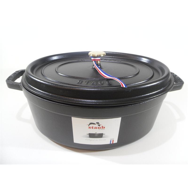 staub cocotte br ter oval 33 cm schwarz 6 7 ltr gusseisen induktion eur 171 25 picclick be. Black Bedroom Furniture Sets. Home Design Ideas