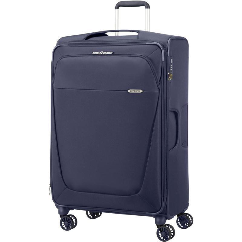 samsonite b lite 3 trolley 63 dark blue 4 rollen spinner koffer blau leicht 61 l ebay. Black Bedroom Furniture Sets. Home Design Ideas