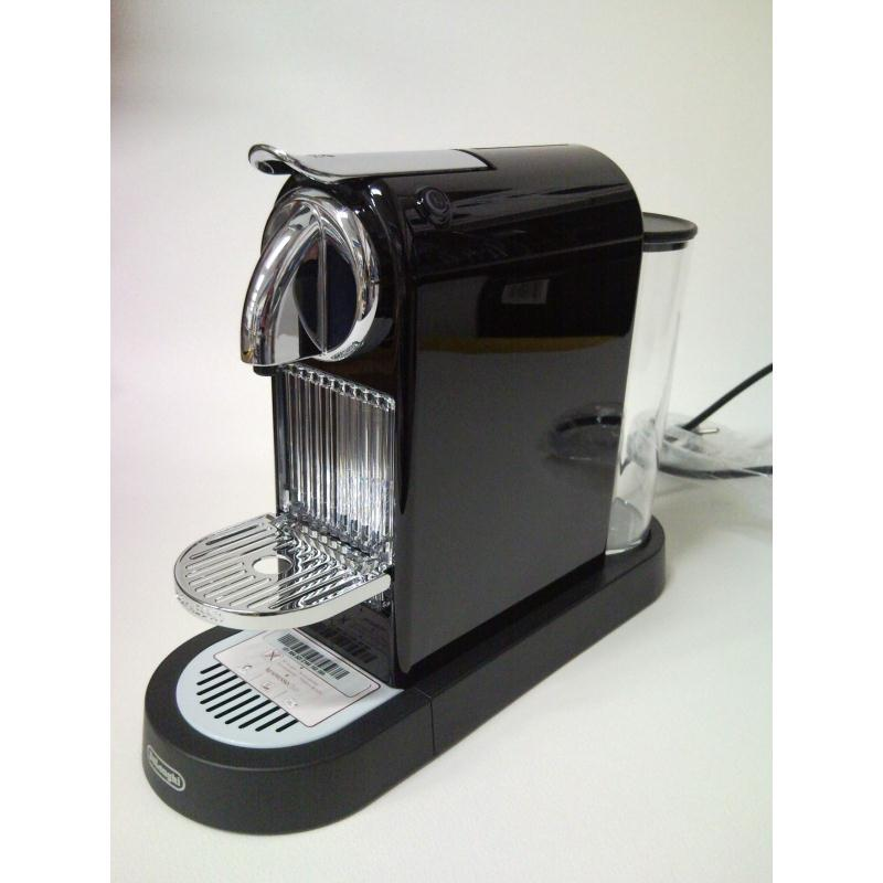 delonghi nespresso new citiz schwarz en 166 b en166b ebay. Black Bedroom Furniture Sets. Home Design Ideas