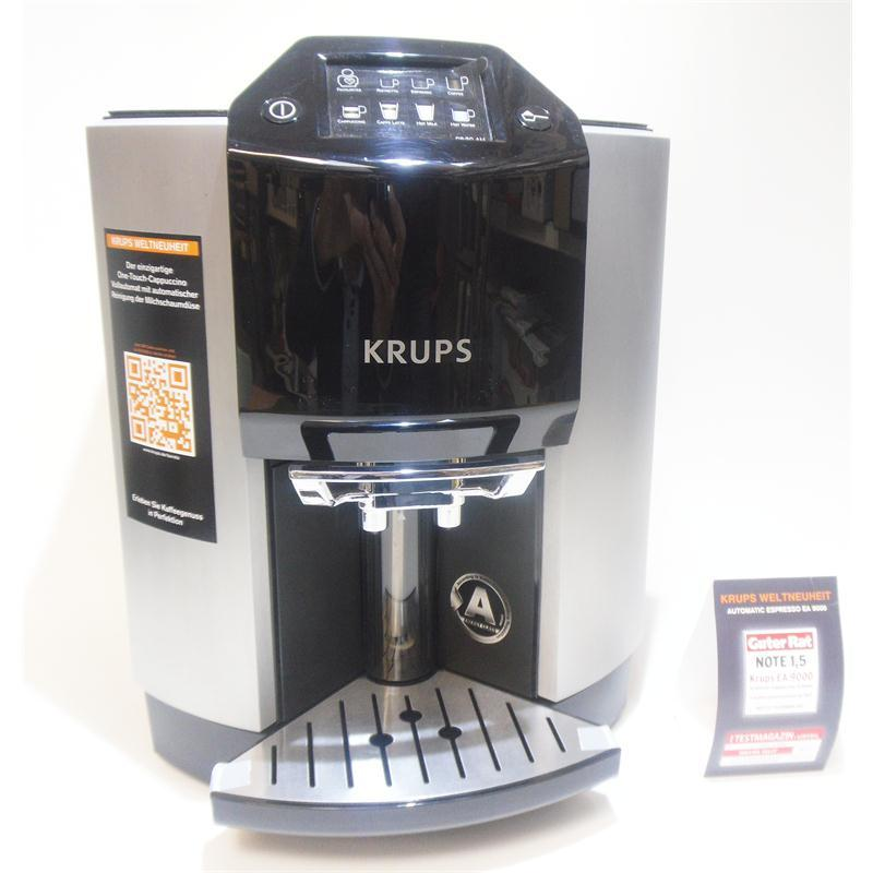 krups kaffeevollautomat ea9000 cappuccino latte macchiato ea 9000 one touch ebay. Black Bedroom Furniture Sets. Home Design Ideas