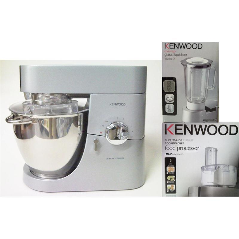 kenwood major titanium kmm020 m mixer foodprocessor at647. Black Bedroom Furniture Sets. Home Design Ideas