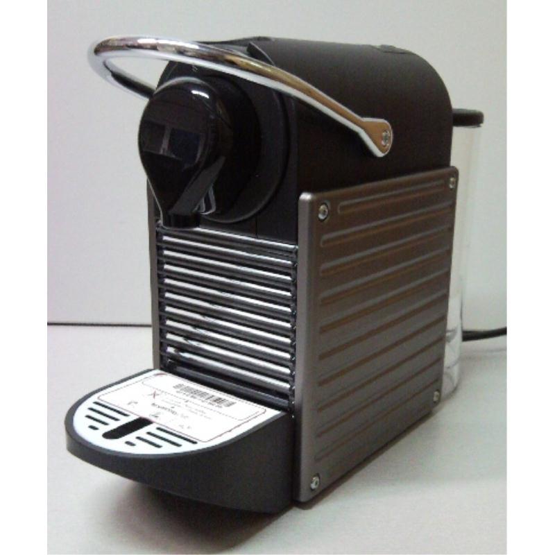 krups nespresso pixie xn3005 titan xn 3005 grau kapselautomat nespressomaschine ebay. Black Bedroom Furniture Sets. Home Design Ideas