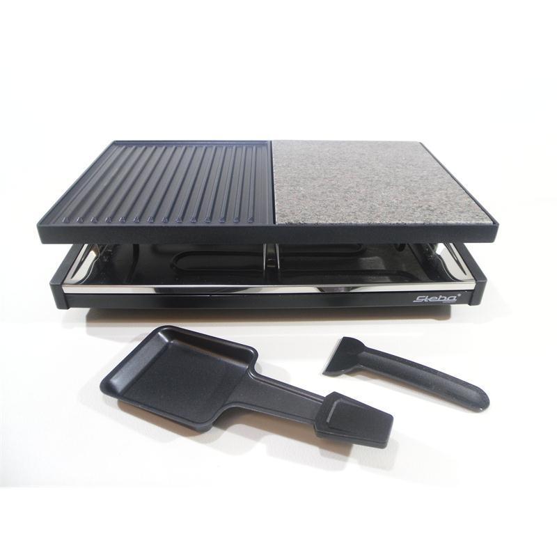 steba raclette stein rc58 hei er stein 8 pf nnchen emailliert rc58 ebay. Black Bedroom Furniture Sets. Home Design Ideas