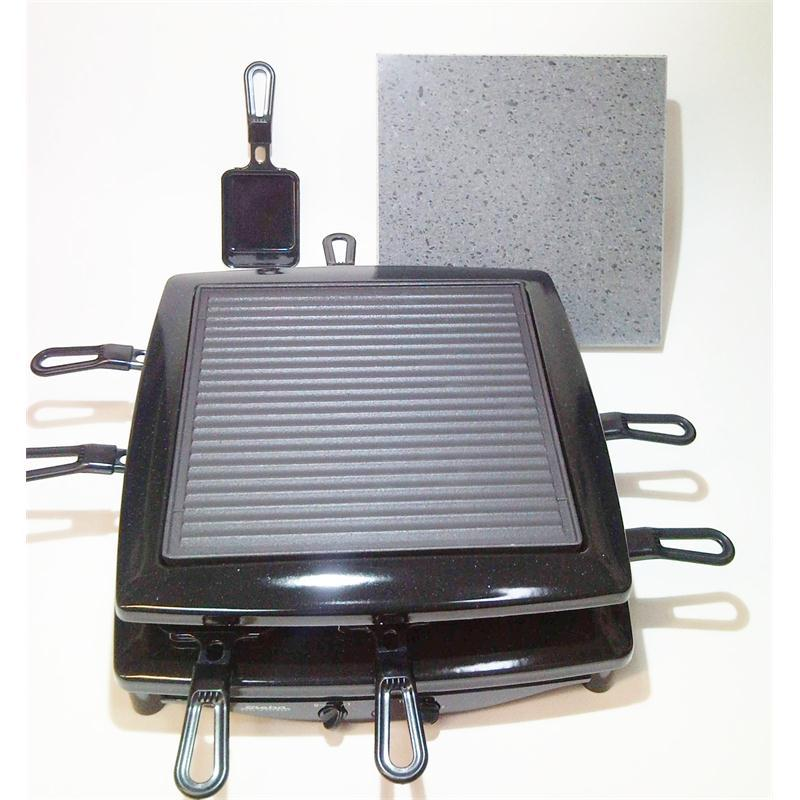 steba raclette grill stein rc3 plus rc 3 hei er stein 8. Black Bedroom Furniture Sets. Home Design Ideas