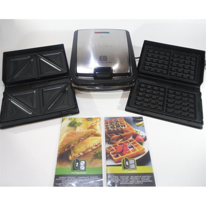 tefal snack grill snack collection sw 852 d snackgrill waffeleisen sandwichmaker ebay. Black Bedroom Furniture Sets. Home Design Ideas