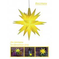 Herrnhuter A1E Jahresstern 2019 Limone Kunststoff 13 cm