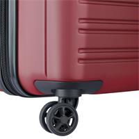 Delsey Segur 2.0 Spinner 70/28 rot Trolley TSA Schloss 4 Doppelrollen Hartschale