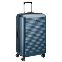 Delsey Segur 2.0 Spinner 78/30 blau Trolley TSA Schloss 4 Doppelrollen Hartschale