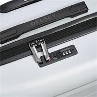 Delsey Comete Spinner 55/20 Slim Line Silbergrau