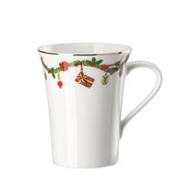 Hutschenreuther Nora Christmas Becher mit Henkel 0,4 Liter Henkelbecher Porzellan spülmaschinengeeig