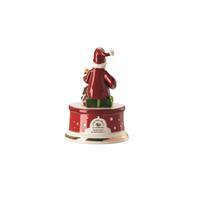 Hutschenreuther Spieluhr klein Morgen kommt der Weihnachtsmann Porzellan