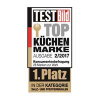 Zassenhaus Mephisto Muskatmühle 13cm Edelstahl / Acryl