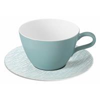 Seltmann Life Fashion green chic Milchkaffeetasse mit Untertasse 2 teilig