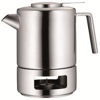 WMF Tee Set Kult m.Stövchen & Sieb 1,2 ltr. Edelstahl Teekanne Teekocher