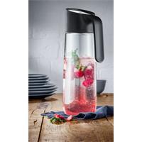 WMF Nuro Wasserkaraffe mit Griff Schwarz 1 Liter