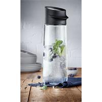WMF Nuro Wasserkaraffe Schwarz 1 Liter