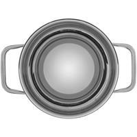 WMF Compact Cuisine Rührschüssel 16 cm Wasserbad Edelstahlschüssel mit Silikonring