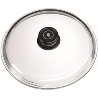 WMF Bratpfannendeckel 26 cm Glasdeckel Pfannendeckel Deckel schwarzer Knauf