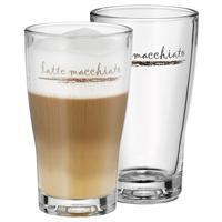 WMF Barista Latte Macchiato Set 2 tlg.2 Gläser Macchiatogläser