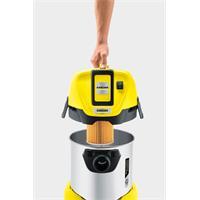 Kärcher Mehrzwecksauger WD3 Battery Premium Set mit Akku, Ladegerät