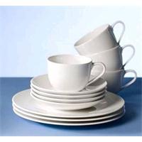 V&B For Me Kaffee Set 18 teilig 6 Personen Kaffeetassen Frühstücksteller Kaffeeservice