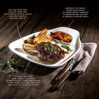 V&B BBQ Passion Steakteller XL 2-teilig 35x33cm