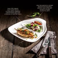 V&B BBQ Passion Steakteller L 2-teilig 30x29cm