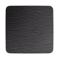 Villeroy&Boch Manufacture Rock Servierplatte quadr.Gourmetplatte 32,5x32,5cm