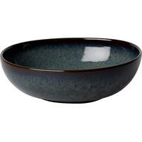 like by V&B Pottery Lave Gris Bol 17 cm Schale Schaelchen Steingut grau