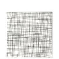 Rosenthal Mesh Line Forest Teller quadratisch flach 27 cm
