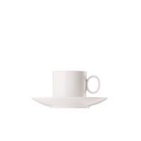 Thomas Loft Weiß Kaffeetasse mit Untertasse 2-teilig
