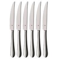 WMF Cromargan 6 Steakmesser poliert Sägeschliff im Geschenkkarton