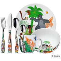 WMF Kinder Set 7 tlg.Dschungelbuch Besteck Geschirr Dschungel Spülmaschine