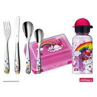 WMF Kinder-Set Unicorn NEW 6-teilig mit Brotdose und Trinkflasche