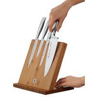 WMF Messerblock Bambus Magnet Magnetmesserleiste Magnethalter für Messer