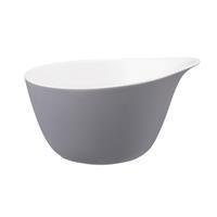 Seltmann L Fashion elegant grey Müslischale mit Griff 0,6 Liter