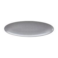 Seltmann L Fashion elegant grey Servierplatte schmal 35x12 cm