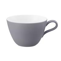 Seltmann L Fashion elegant grey Milchkaffeeobertasse 0,37 Liter