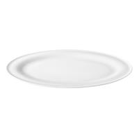 Seltmann Beat weiß Servierplatte oval 31x24cm Rillendekor Platte